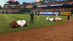 Nationals Racing presidents on the ground
