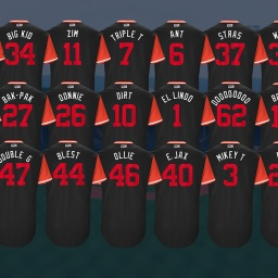 Washington Nationals Nickname Jerseys for MLB's Players Weekend