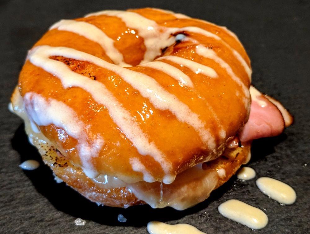 Nationals Park Maple Doughnut Croque Monsieur