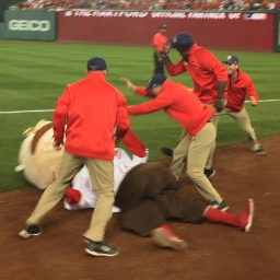 Teddy Roosevelt almost wins in the playoffs, but Nats grounds crew intervenes