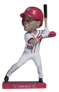 Juan Soto Bobblehead Washington Nationals