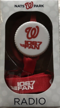 Washington Nationals Radio Lanyard