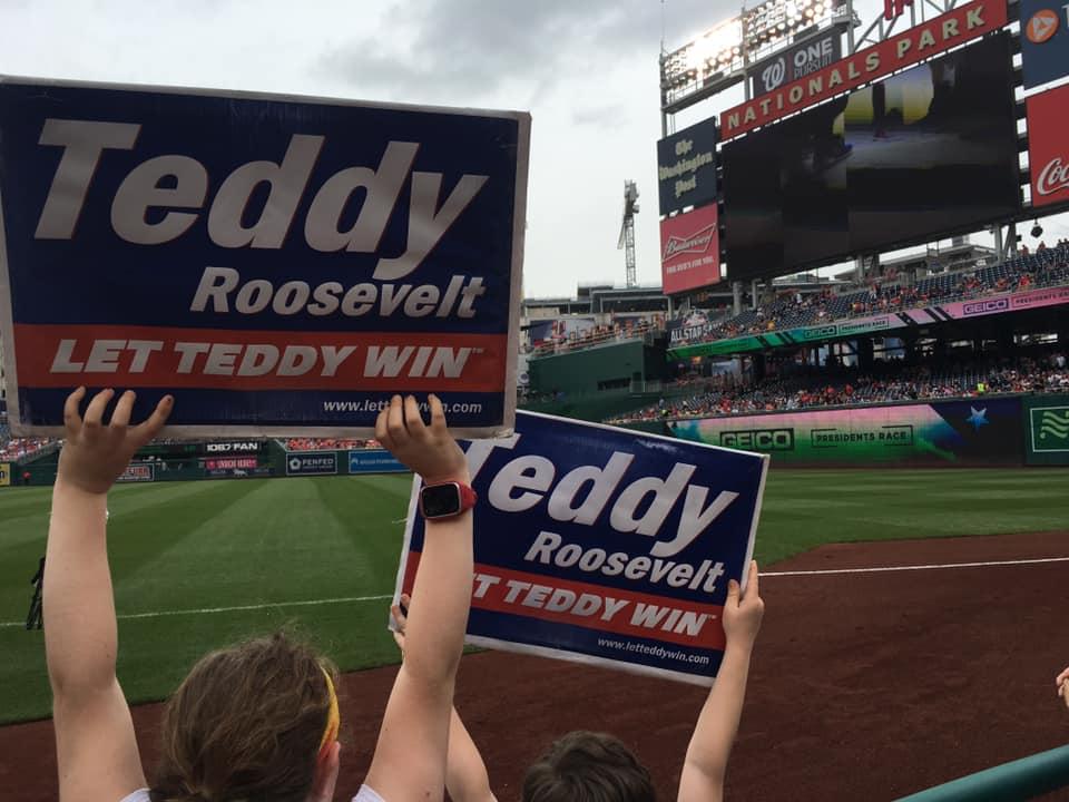 c17ce3024 Presidents Race Standings   Let Teddy Win!