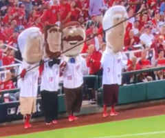 washington Nationals Racing Presidents Lose Control